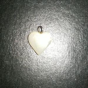 Genuine pearl charm